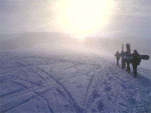 Зима 2006, Подобовец, Карпаты