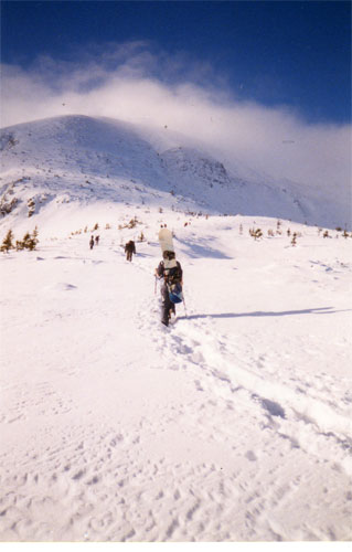 Зима 2001, Говерла, Карпаты