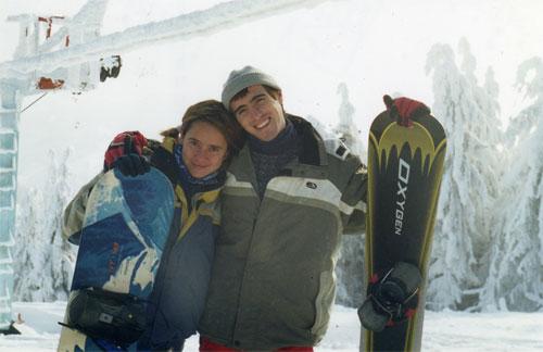 Зима 2001, Славское, Карпаты